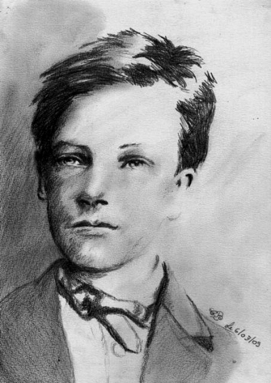 Arthur Rimbaud par barbouille